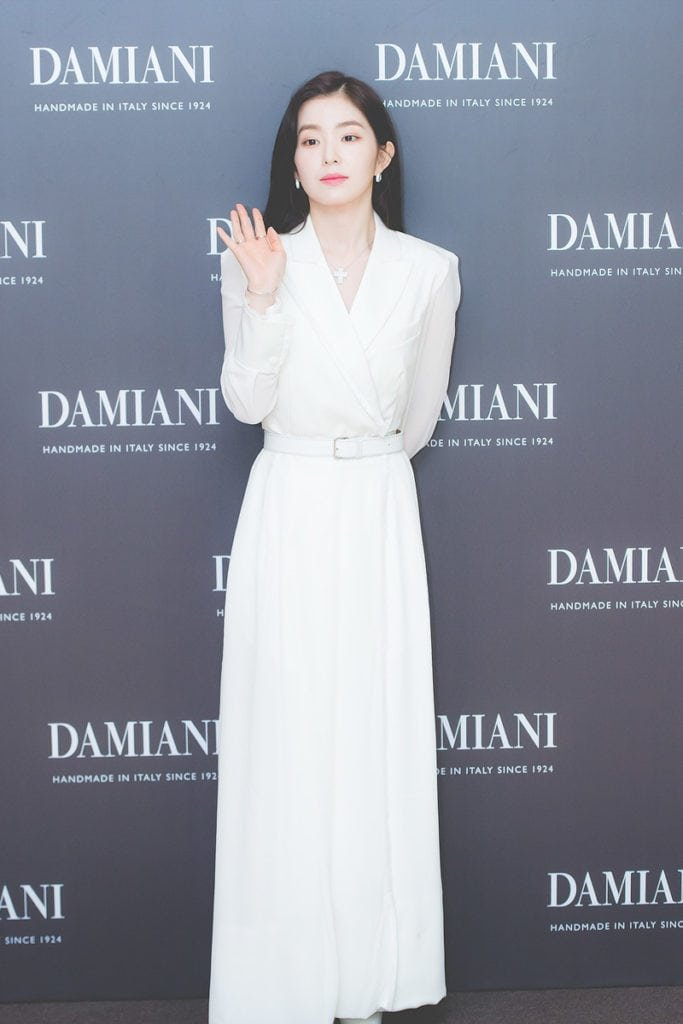 Red Velvet S Irene Is A Vision In White At The Damiani Event Inkistyle