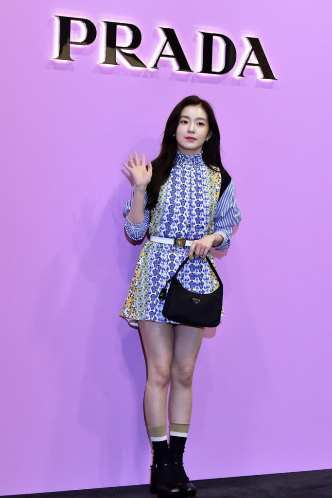 Red Velvet Irene Lightened Up The Stage With Her Fabulous Outfit At The Prada Event Inkistyle