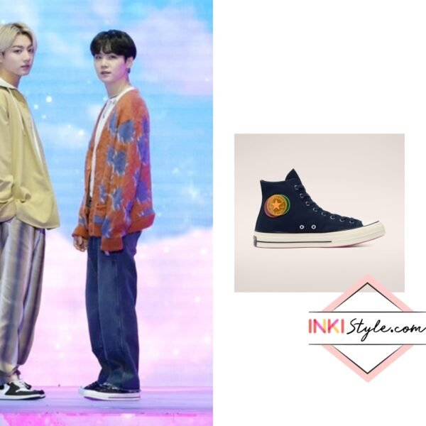 BTS Suga's Heart of the City Chuck 70 at the 2021 Golden Disc Awards