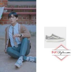 Cha Eun-woo's Vans Old Skool Suede In Drizzle in True Beauty