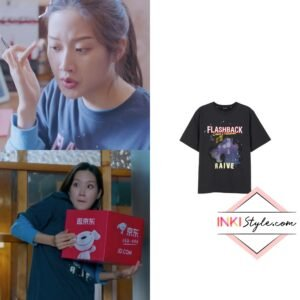 Moon Ga-Young's City Dreamer Print Tee in True Beauty