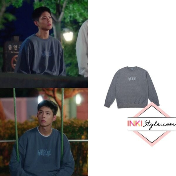 Park Bo-Gum's Pigment Adolescence Sweatshirt in Record Of Youth