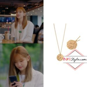 Park So-Dam's Big Circle Necklace in Record Of Youth