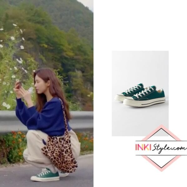 Shin Se-Kyung's Chuck 70 Vintage Canvas Low Top Sneaker in Run On