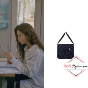 Shin Se-Kyung's Flower Eco Bag in Run On