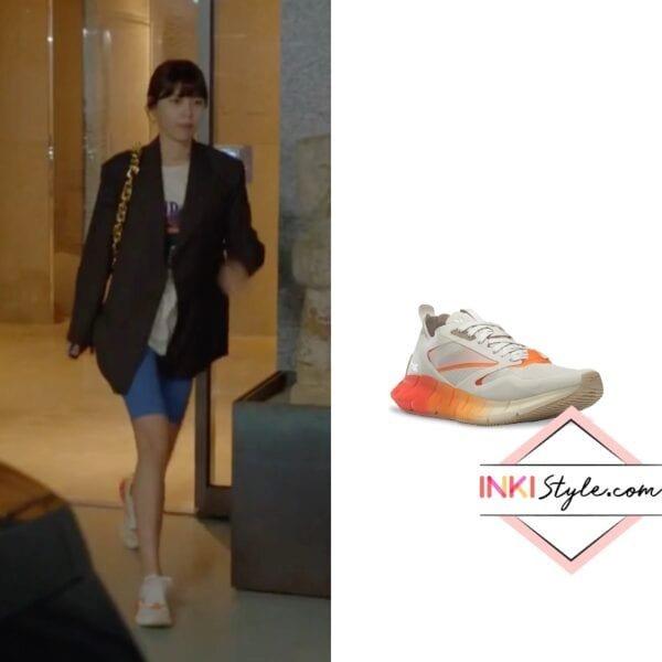 Sooyoung's Zig Kinetica Horizon Running Shoe in Run On