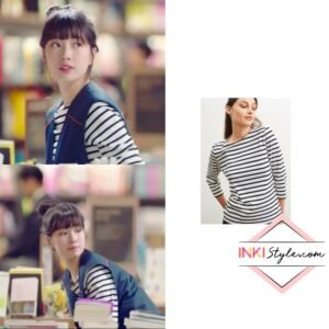 Suzy's GALATHEE II Breton Striped Top in Start-Up