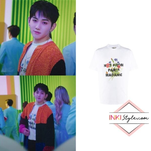 TREASURE Mashiho's Not From Paris T-shirt in My Treasure MV