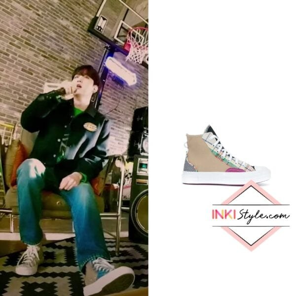 BTS Suga's Hacked Fashion Chuck 70 Sneakers on MTV Unplugged