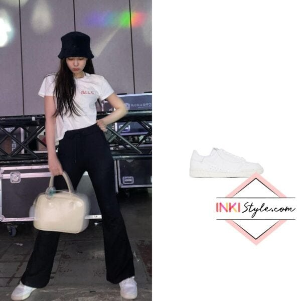 Blackpink Jennie's Continental 80 Low Top Sneakers on Instagram