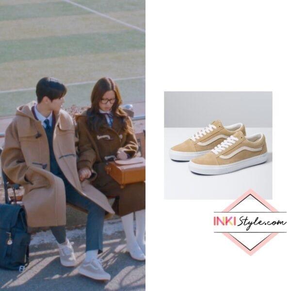 Cha Eun-Woo's Suede Old Skool Sneakers in True Beauty