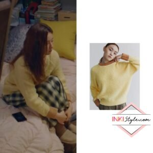 Shin Se-Kyung's Boucle Round Knit in Run On