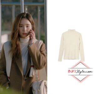 Shin Se-Kyung's Double Turtleneck in Run On