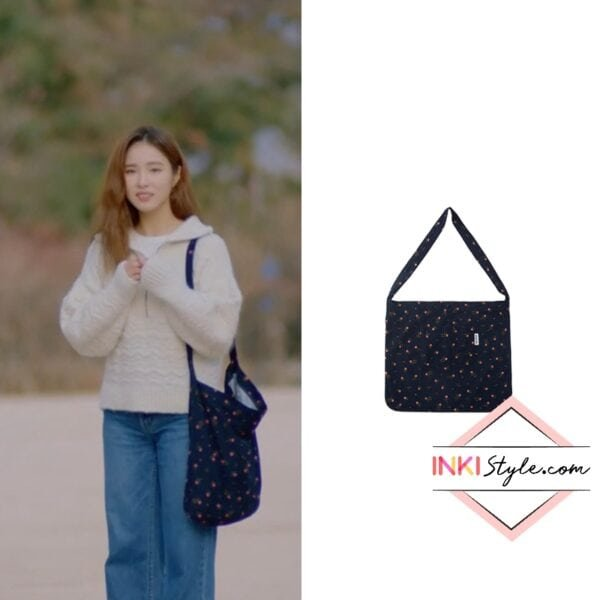 Shin Se-Kyung's Flower Eco Bag 004 in Run On