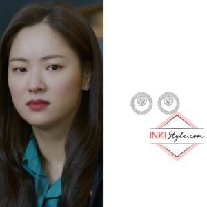 Jeon Yeo-bin's Creavity Circle Pierced Earrings in Vincenzo