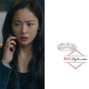 Jeon Yeo-bin's Vittore V Ring in Vincezo