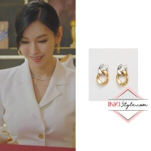 Kim So-yeon's Combi Chain Drop Earring in Penthouse 2
