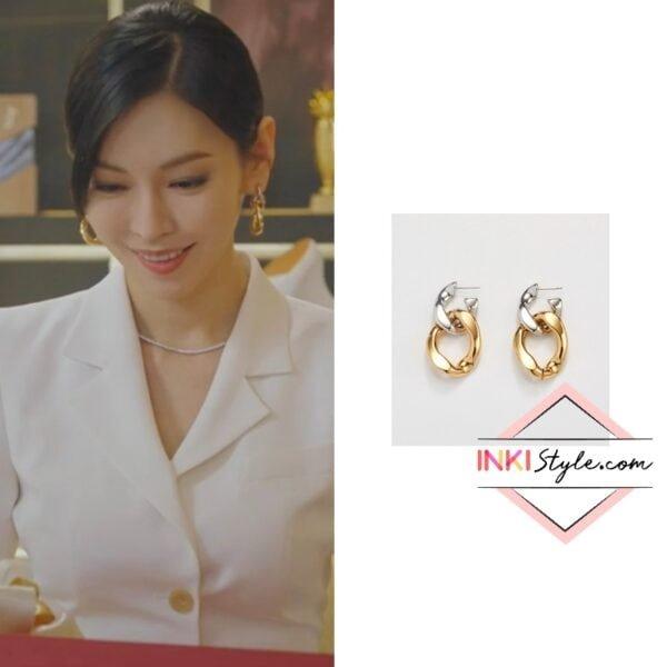 Kim So-yeon's Combi Chain Drop Earring in Penthouse 2