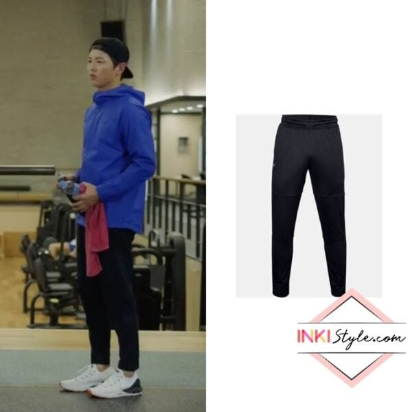 Song Joong-ki's Project Rock Knit Track Pants in Vincenzo