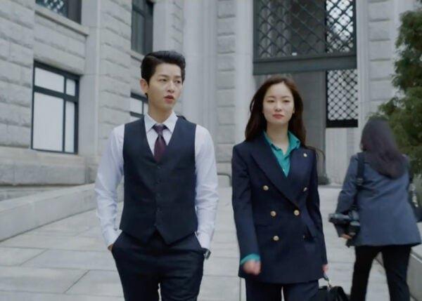 Vincenzo Kdrama Fashion - Jeon Yeo-Bin - Episode 7-1