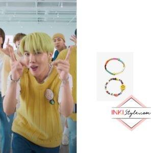 BTS J-hope's Set Cool Summer Beads Bracelet in 'Butter' Special Performance Video
