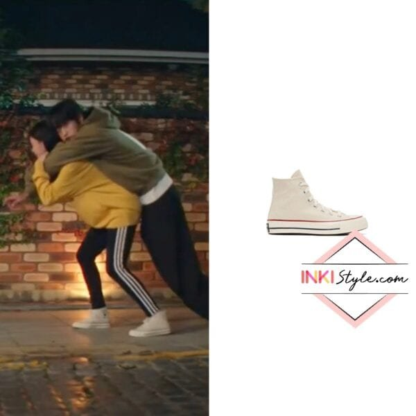 Hyeri's Off-white Chuck 70 High Sneaker in My Roomate Is A Gumiho
