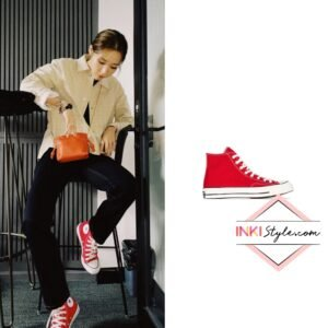 Mamamoo Moonbyul's Chuck 70 High Top Sneakers on Instagram