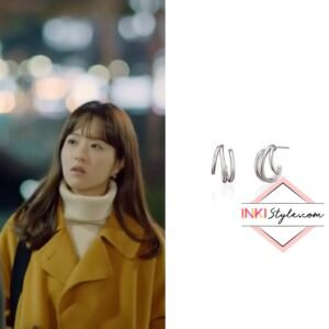 Park Bo-young's Triple Unbalance Earring in Doom At Your Service