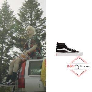 TXT Huening Kai's Ua SK8 Hi LX Sneaker in 0X1 Love Song MV