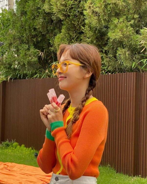 RED VELVET Seulgi's Outfit on Instagram on July 20, 2021