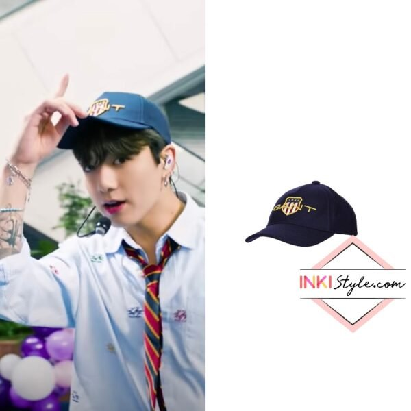 BTS Jungkook's D1 Archive Cap on Permission to Dance at The Tonight Show Starring Jimmy Fallon