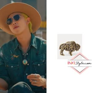 BTS RM's Buffalo Pin in Permission To Dance MV