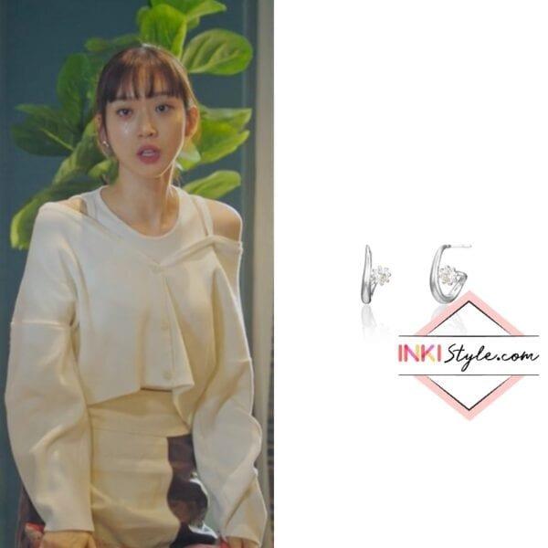 Han Ji-hyun's Lucy Cubic Earring in Penthouse 3