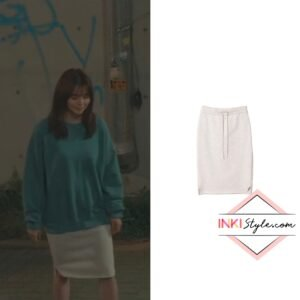 Han So-hee's H-line Sweat Skirt in Nevertheless