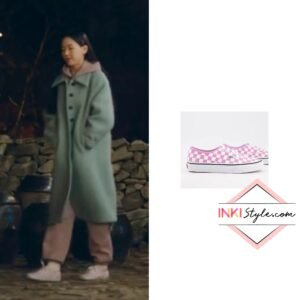 Kang Han-na's Authentic Checkerboard Sneakers in My Roomate Is A Gumiho