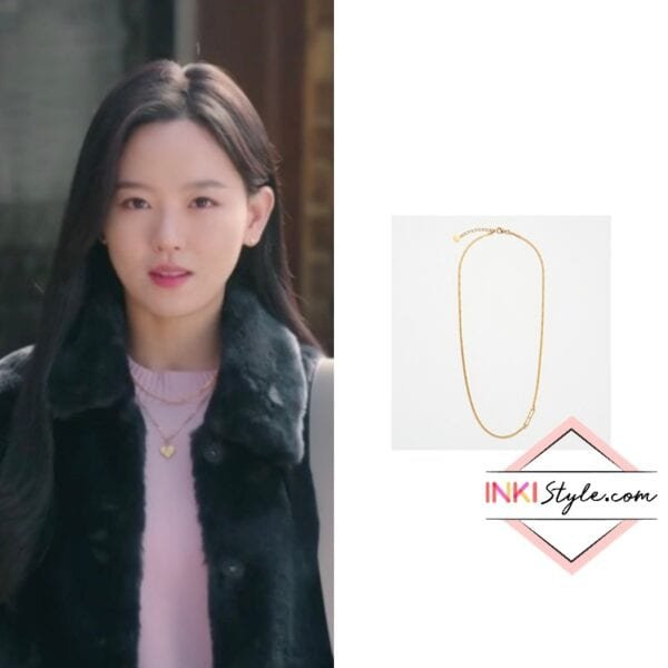 Kang Han-na's H Initial Necklace in My Roomate Is A Gumiho