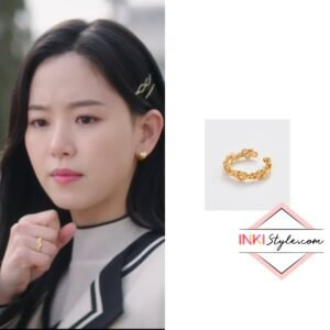 Kang Han-na's Heart Pretzel Ring in My Roomate Is A Gumiho