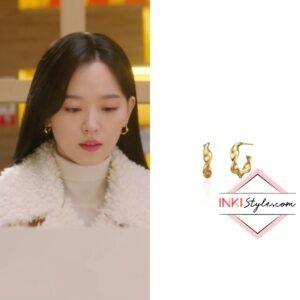 Kang Han-na's Twist Hoop Earring in My Roomate Is A Gumiho