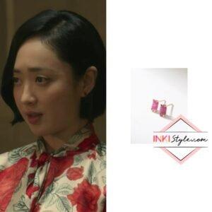 Kim Min-jung's Fartfait Stone Earring in The Devil Judge
