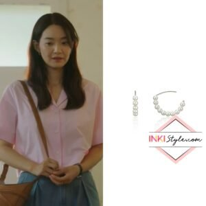 Shin Min-ah's Half Pearl Hook Earring in Hometown Cha-cha-cha