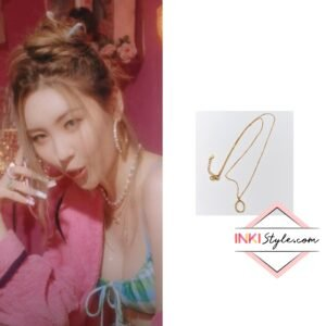 Sunmi's Haze Pendant Necklace in You Can't Sit With Us MV