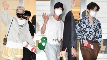 BTS's Outfit at Incheon Airport on September 19, 2021