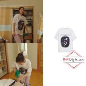 Hometown Cha-Cha-Cha Kdrama Fashion - Shin Min-Ah - Episode 10-3