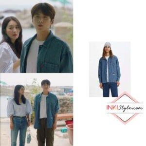 Hometown Cha-Cha-Cha Kdrama Fashion - Kim Seon-Ho - Episode 7-2