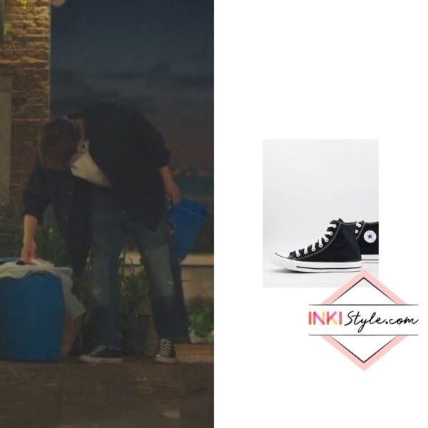 Kim Seon-ho's Chuck Taylor All Star Hi Canvas Sneaker in Hometown Cha Cha Cha