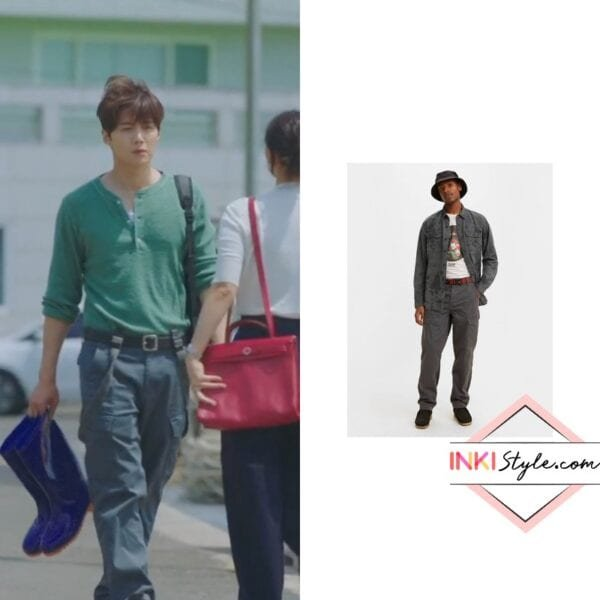 Kim Seon-ho's Taper Fit Cargo Pants in Hometown Cha Cha Cha