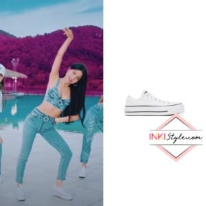 Mamamoo Solar's White Chuck Taylor All Star Lift Low Sneaker in Mumumumuch MV