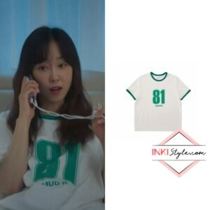 Seo Hyun-jin's Oversized Numbering T-shirt 002 in You Are My Spring '
