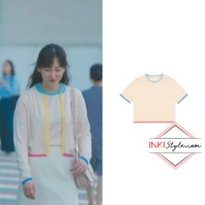 Seo Hyun-jin's Ruel Crew Neck Knit Top in You Are My Spring