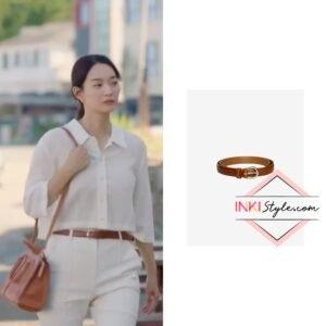 Shin Min-ah's Baengnokdam Leather Belt in Hometown Cha-cha-cha